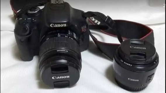 Canon T3i + 18-55mm + 50mm