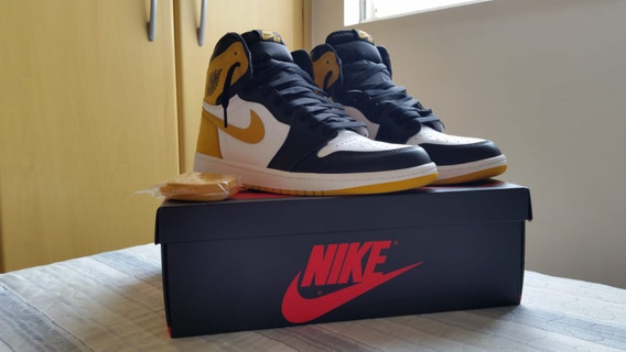 Nike Air Jordan 1 Yellow Ochre