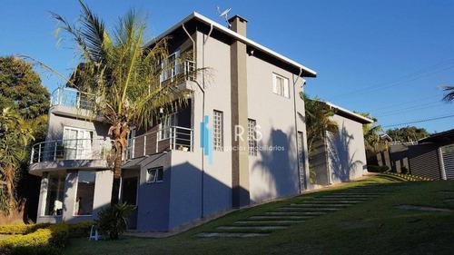Casa Com 4 Dormitórios À Venda, 430 M² Por R$ 1.350.000,00 - Traviú - Jundiaí/sp - Ca0496