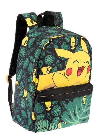 Mochilas Primaria Escolares Niño Pokemon Pikachu 9284
