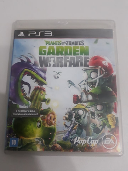 Plants Vs Zombies Garden Warfare Ps3 Midia Fisica