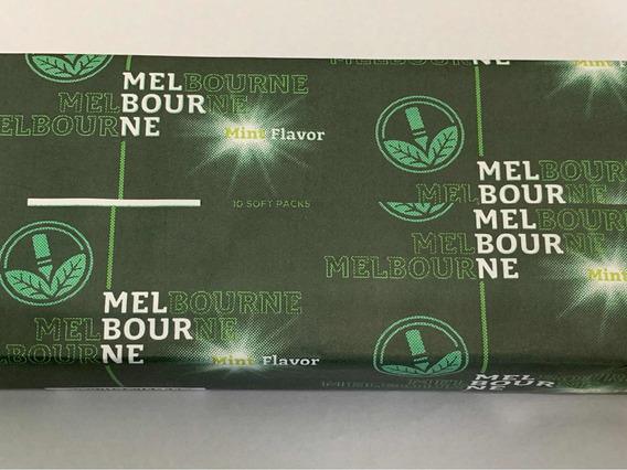 Cigarrillos Melbour Mentolados Pack Por 10