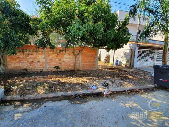 Terreno- Jardim Abaeté, Pq Das Águas - Te0011