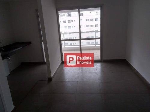 Apartamento Com 1 Dormitório À Venda, 37 M²  - Moema - São Paulo/sp - Ap20594