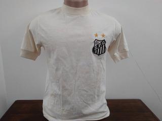Camisa Santos De Jogo Anos 70