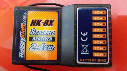 Receptor Hk-8x 2,4ghz - 8 Canais