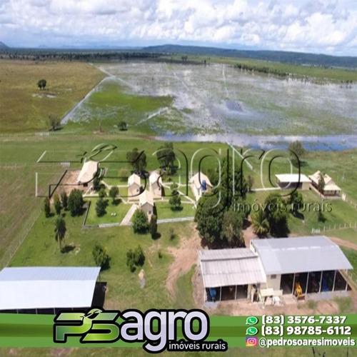 Imagem 1 de 15 de Fazenda À Venda, 12000 Hectares Por R$ 100.000.000 - Zona Rural - Nossa Senhora Do Livramento/mt - Fa0107
