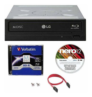 Lg Wh16ns40 16x Super Multi M-disco Blu-ray Bdxl Dvd Cd Burn