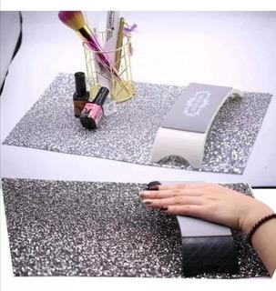 Tapete Cristales Para Mesa De Uñas Acrílicas Gelish Tornasol