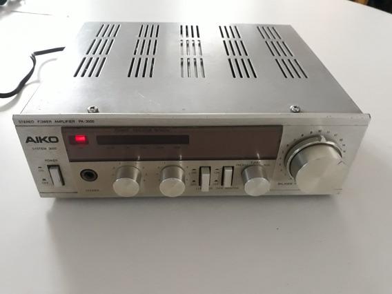 Amplificador Aiko P A 3000 - Stereo Power Amplifier