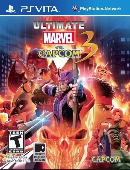 Marvel Vs Capcom 3 Ps Vita Psvita - Psvita