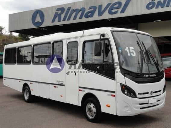 Micro Ônibus Rodoviario 2015/15 Com Ar. Vw 8.160 32 Lugares.