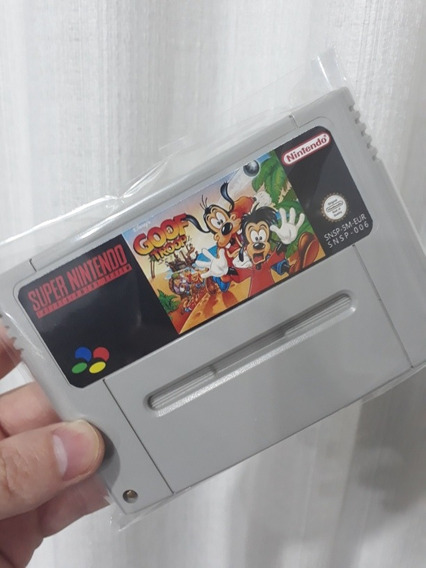 Fita De Super Nintendo Goof Troop