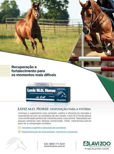 Suplemento Laviz Mo Horse Caja De 44 Jeringas De 40 Grs.