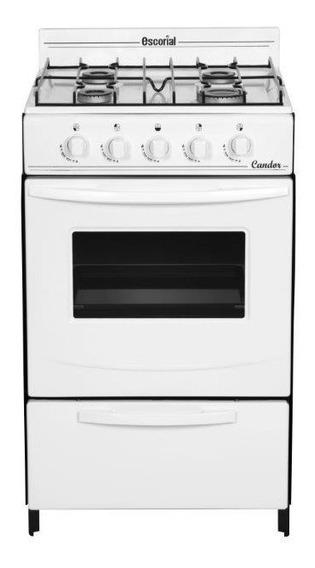 Cocina Escorial Candor Gas Natural Blanca Center Hogar