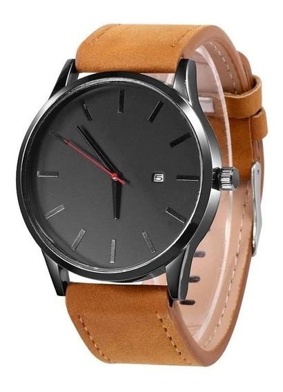 Relógio Quartzo Masculino Calendário