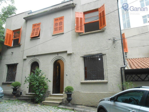 Casa Para Alugar, 186 M² Por R$ 7.000/mês - Higienópolis - São Paulo/sp - Ca0319