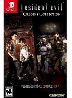 Resident Evil Origins Collection Nintendo Switch Nuevo Juego