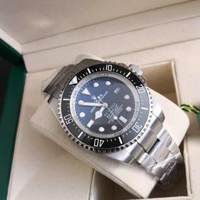 Rolex Deepsea Degrade Preto E Azul Com Caixa E Documentos