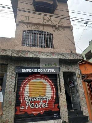 Sobrado Com 3 Dormitórios À Venda, 250 M² Por R$ 550.000 - Quitaúna - Osasco/sp - So0334