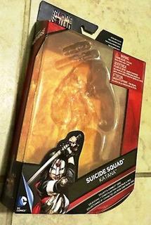 Katana Dc Multiverse - Caja Vacía Original De Suicide Squad