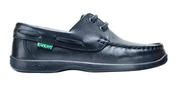 Kickers Zapato Nautico Colegial. Billy