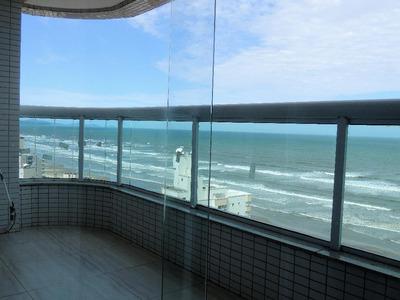 Apartamento Em Vila Caiçara, Praia Grande/sp De 111m² À Venda Por R$ 517.000,00 - Ap138760