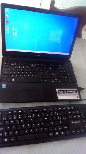 Notebook Acer Aspire E5 571 I5 8gb De Ram Mais Teclado