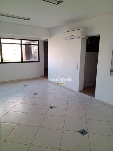 Imagem 1 de 5 de Sala Para Alugar, 40 M² Por R$ 1.200,00/mês - Santo Antônio - São Caetano Do Sul/sp - Sa0879