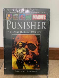 Libro Marvel Salvat Cómics Punisher Bienvenido A Casa Parte1