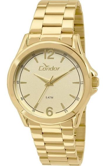 Relógio Condor Masculino Dourado Co2035kos/4x