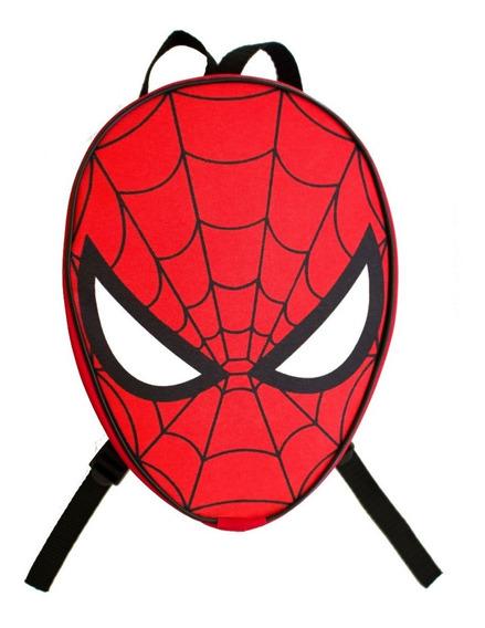 Mochila Dulcero Cara De Spiderman Chica Personalizada