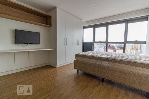 Studio No 20º Andar Mobiliado Com 1 Dormitório - Id: 892972300 - 272300