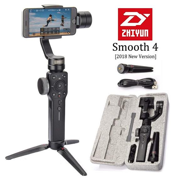 Gimbal Smooth 4 Smartphone Estabilizador Zhiyun No Brasil!