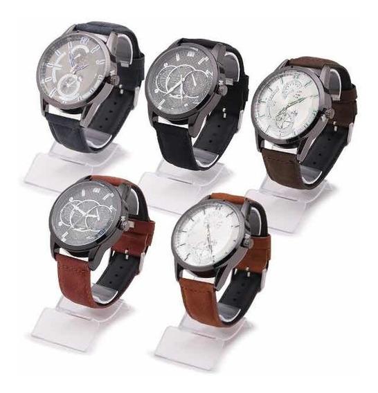 Kit Revenda 10 Relógios Masculinos-lucre 100%-frete Grátis