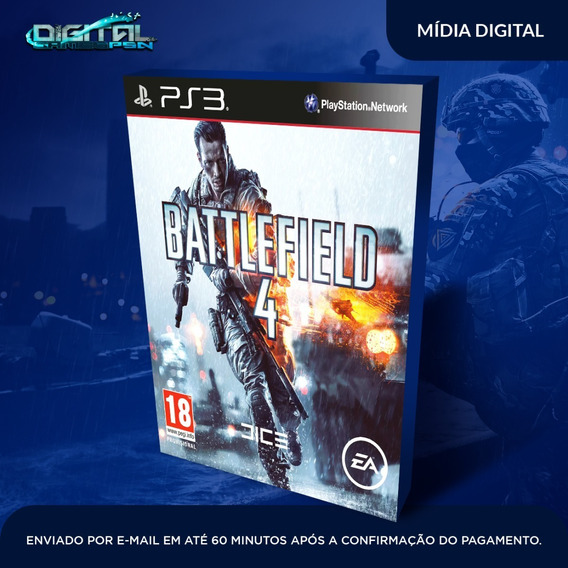 Battlefield 4 Ps3 Psn Midia Digital Em 10 Min!