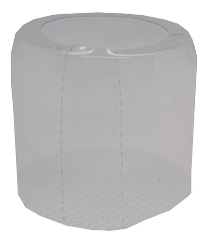 .100 Lacres Incolor Termoencolhível Mini Garrafa 22mm X 25mm