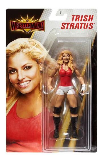 Figura Wwe Mattel Divas Trish Stratus Wrestlemania Raw