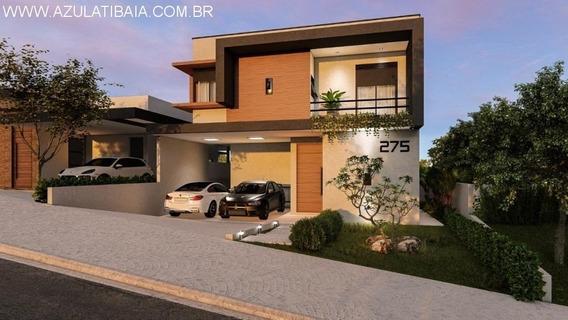 Casa Nova Em Atibaia, Condomínio Atibaia Park Portaria, Rondas E Área De Lazer... - Ca00482 - 34293143