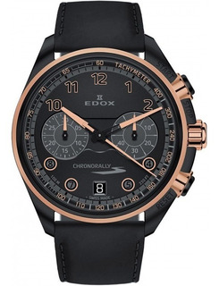 Maravilloso Reloj Edox Chronorally-s 09503-37nrcn-nnr