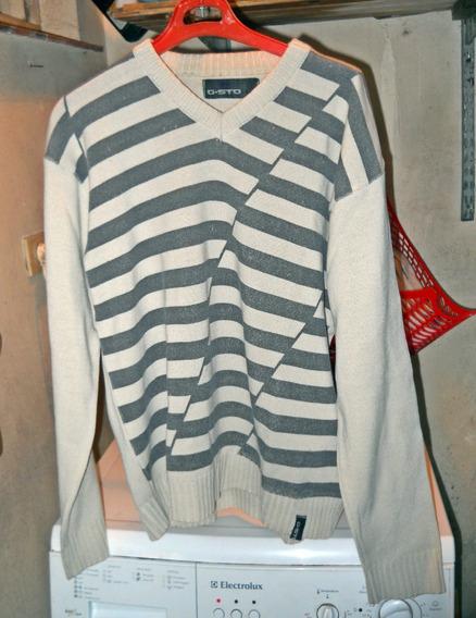Sweater Escote V Hombre
