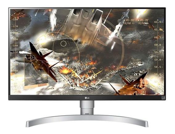 Monitor Lg Led 27´ Widescreen 4k Ips Branco - 27ul650-w