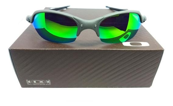 Oculos Oakley Romeo 2 Xmetal Lente Verde Double Juliet 24k