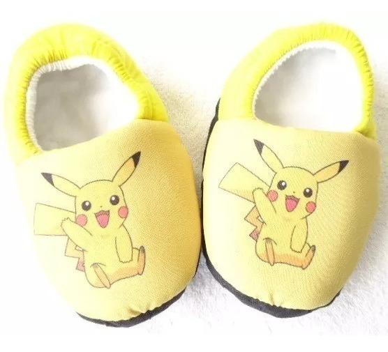 Pantufa Pokemon Digimon Pikachu Ash * Sob Encomenda