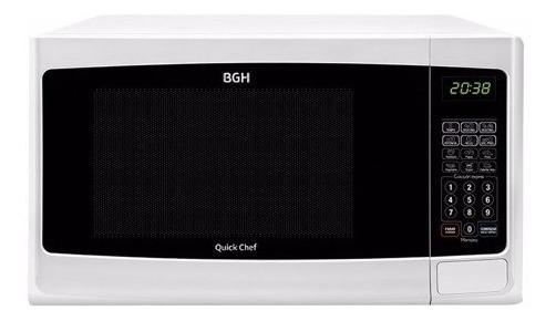 Microondas Bgh Quick Chef 28lts Digital Grill 900w B228d