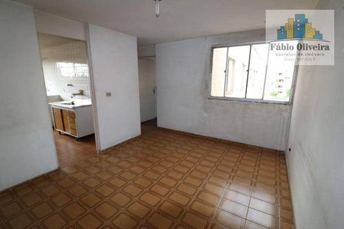 Imagem 1 de 27 de Apartamento Condômino Alvorada 2° Etapa Com 2 Dormitórios À Venda, 53 M² Por R$ 180.000 - Jardim Alvorada - Santo André/sp - Ap1741