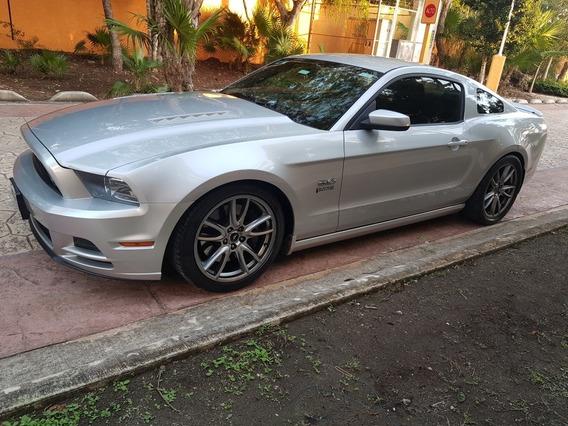 Ford Mustang 5.0l Gt Vip Equipado Piel 6 Vel Mt 2013