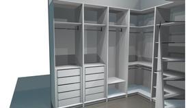 Projeto Móveis Planejados | Pack 10 Closets + Plano De Corte