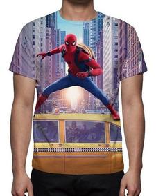 Camiseta Homem Aranha De Volta Ao Lar 07 - Promoção