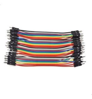 Pack 40 Cables Protoboard Macho Macho Arduino Dupont